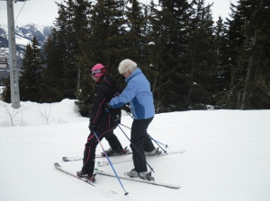 Fabulous Ski Private Lessons nervous ladies